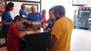 The past few weeks have also been a busy time preparing for the state fair. Keith shared his farm story while working at the Farm Bureau building. Thanks to all who stopped by.