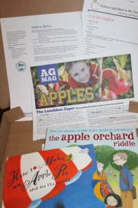 "We also have incorporated both of these books into lessons. ""How to Make a Apple Pie and See the World"" provides a great opportunity to talk about geography. ""The Apple Orchard Riddle"" is great in the classroom or for a Sunday school lesson. The Minnesota Agriculture in the Classroom and the American Farm Bureau Foundation have great resources to enhance both of these books."